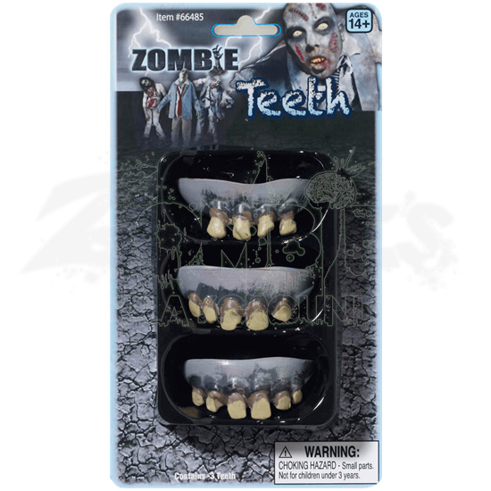 Rotted Zombie Teeth