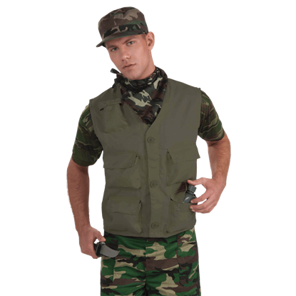 Olive Drab Combat Vest