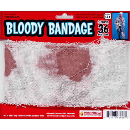 Roll of Bloody Bandages