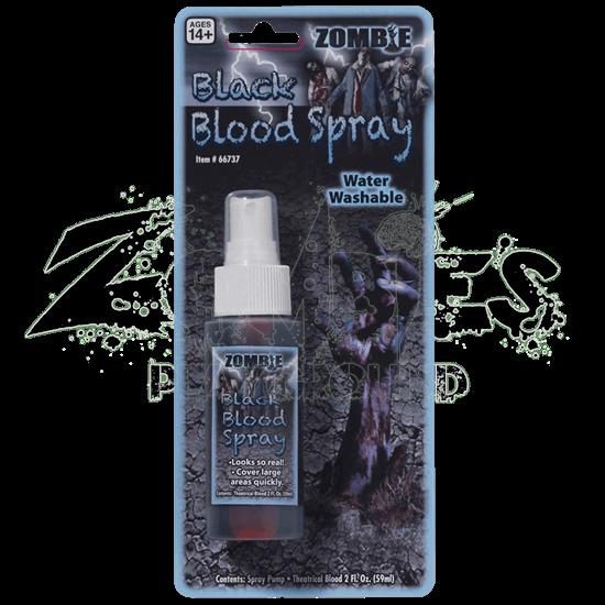Zombie Black Blood Spray