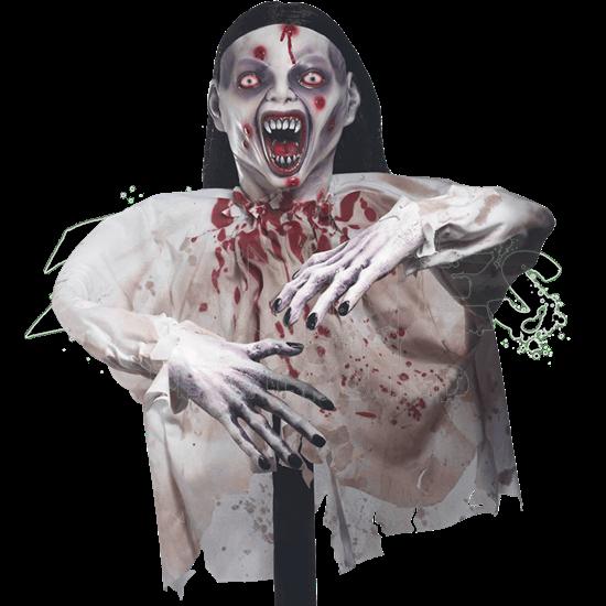 Fanged Groundbreaker Zombie