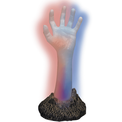 Glowing Zombie Hand