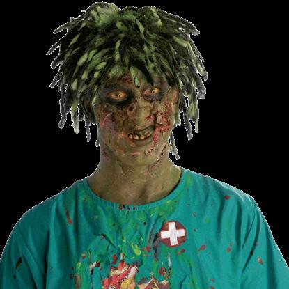 Contaminated Biohazard Zombie Wig