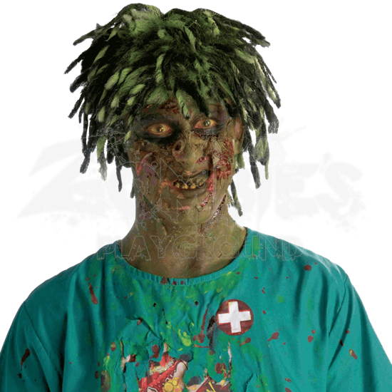 Contaminated Biohazard Zombie Wig