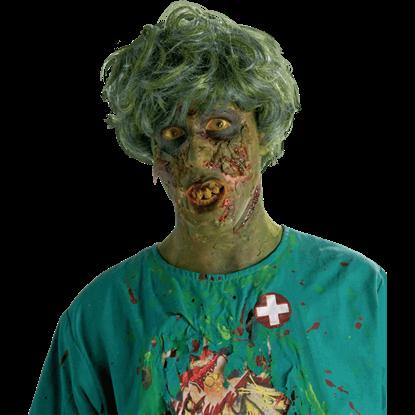 Noxious Biohazard Zombie Wig