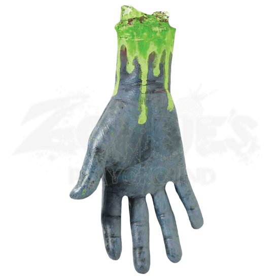 Severed Biohazard Zombie Hand