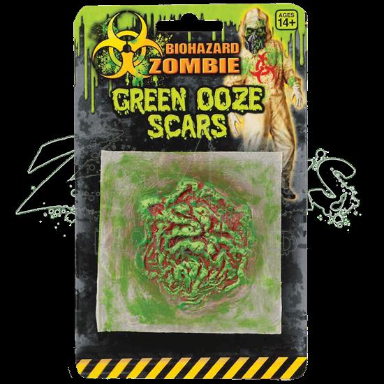 Biohazard Zombie Green Ooze Wound