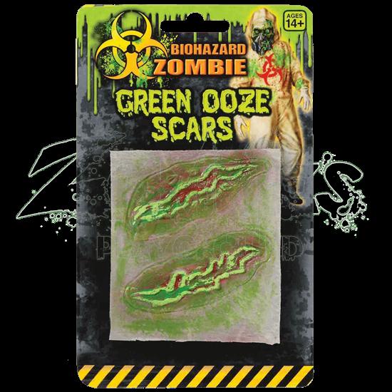 Biohazard Zombie Green Ooze Scars