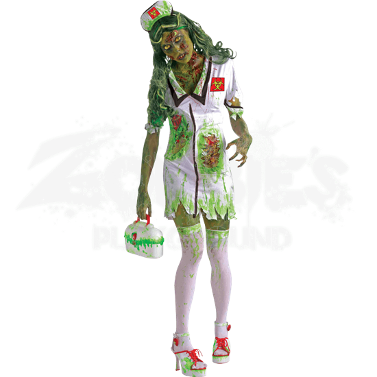 Biohazard Zombie Nurse Costume