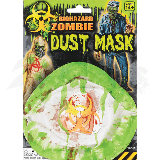 Biohazard Zombie Dust Mask