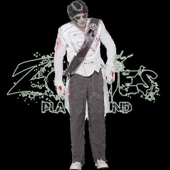 Charming Zombie Prince Costume