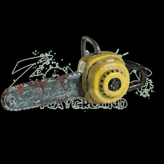 Chain Saw Horror Ornament