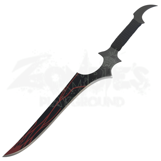 Red Streak Fantasy Short Sword