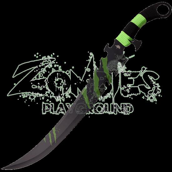 Green Claw Marks Fantasy Sword