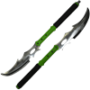 Zombie Reaper Bladed Staff