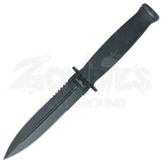 Varied Serration Survival Knife