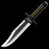 Survivor Clip Point Hunting Knife