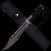 Black Survivor Battle Knife