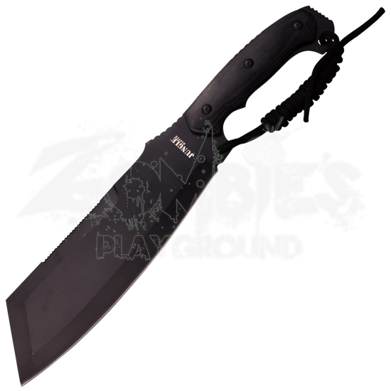 Black Jungle Cleaver Machete