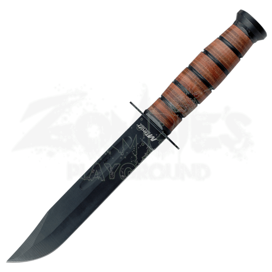 Black Military Utility Knife