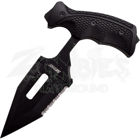 Tactical Black Push Dagger