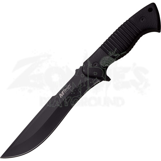 Black Pakkawood Drop Point Knife