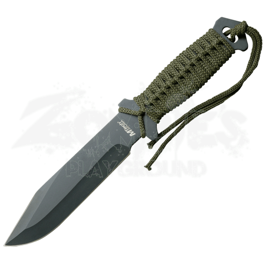 Black Steel Combat Knife