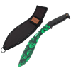 Green Skull Bladed Kukri