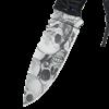 Grey Skull Camo Utility Knife