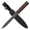 Leather Handled Combat Knife