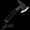 Black Steel Tactical Hand-Axe
