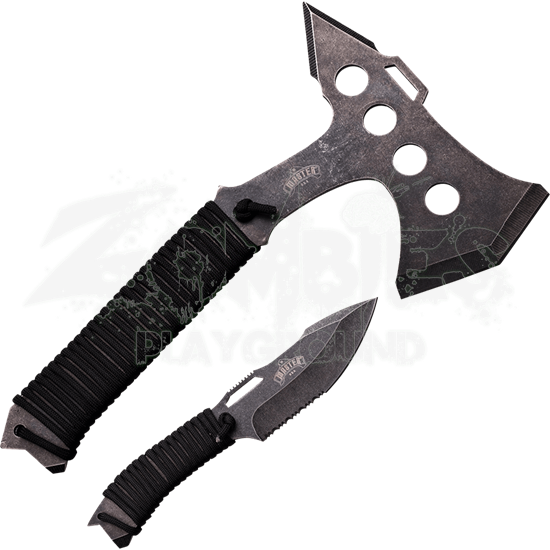 Tactical Tomahawk and Knife Set
