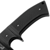 Black Drop Point Knife