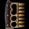 Golden Bullet Knuckle Knife