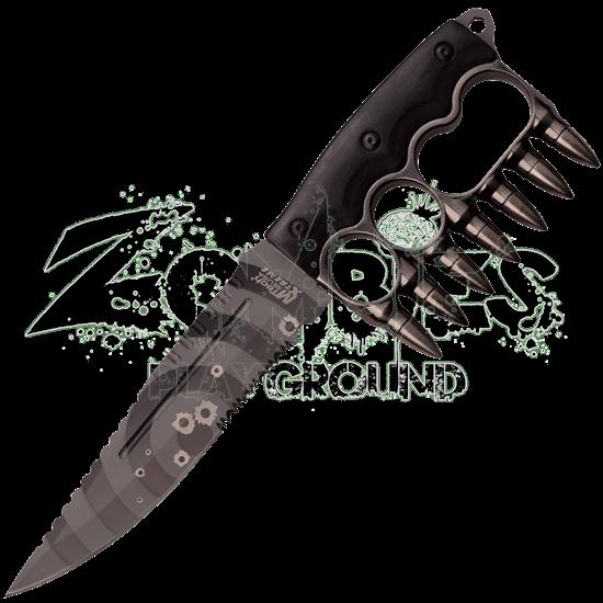 Silver Bullet Knuckle Knife