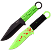 6 Piece Zombie Apocalypse Throwing Knives