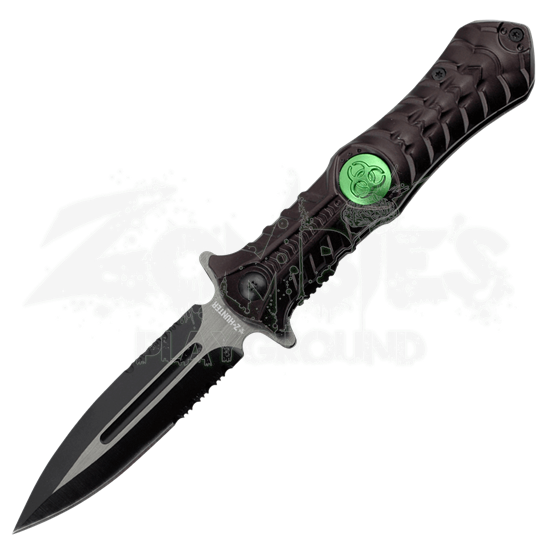 Z-Hunter Biohazard Black Folding Knife