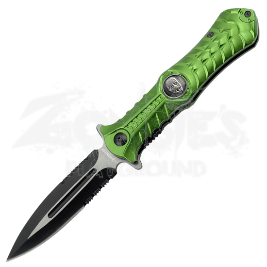 Z-Hunter Green Folding Knife