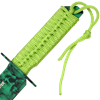 Green Skull Bowie Knife
