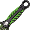 Green Skull Camo Boot Knife