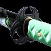 Green Biohazard Katana
