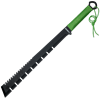 Black Zombie Hunter Toothed Machete
