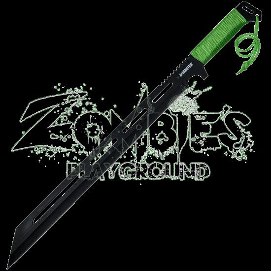 Black Zombie Hunter Machete