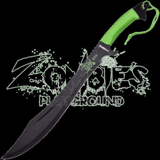 Zombie Killer Biohazard Scimitar Machete