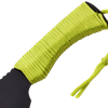 Black Serrated Zombie Machete