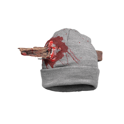 Bloody Staked Beanie