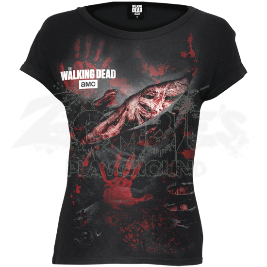 Walking Dead Cap Sleeve T-Shirt