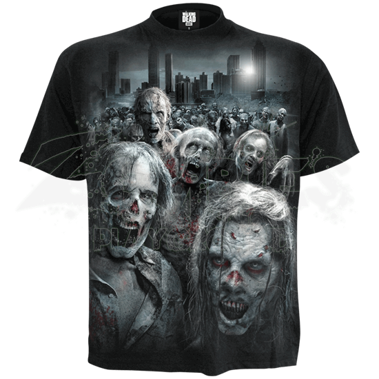 Walking Dead Zombie Horde T-Shirt