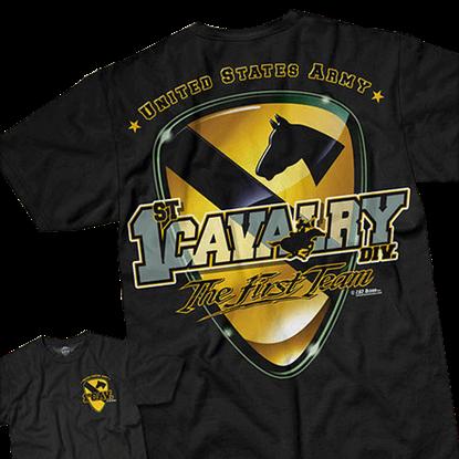 Army 1st Cavalry First Team T-Shirt