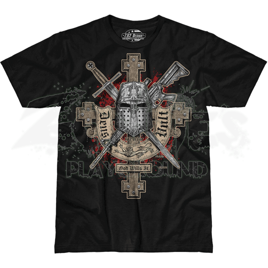 Deus Vult Premium T-Shirt